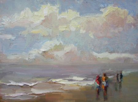 cloudydayBeachPeople